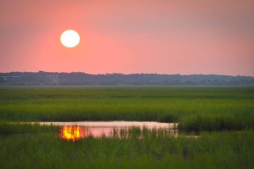 sunrise nc northcarolina sunsetbeach goldenhour calabash intracoastalwaterway sunsetbeachnc