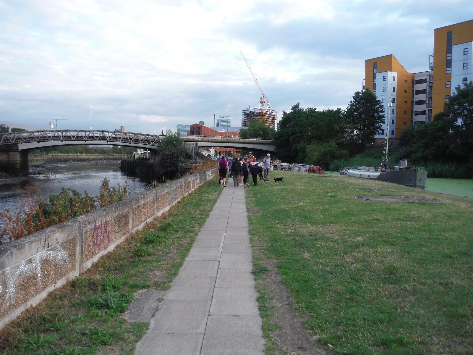 Between the rivers: Waterworks and Lea SWC Short Walk 21 - The Line Modern Art Walk (Stratford to North Greenwich)