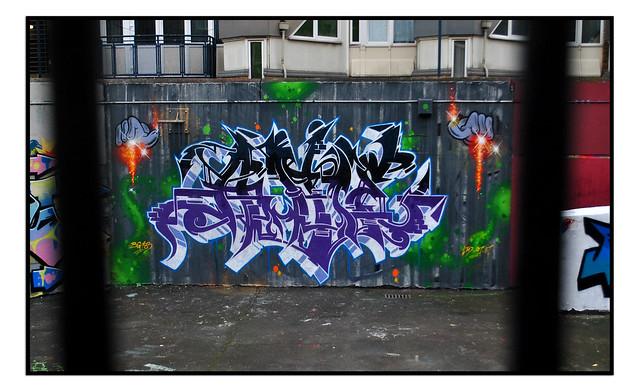 GRAFFITI WORK by ANTE LTD
