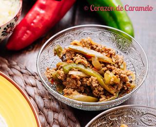 Fajitas de Pollo y de Carne | by Corazón de Caramelo