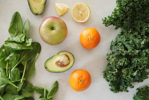 green smoothie ingredients | by Stacy Spensley