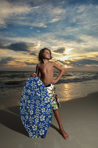 sunset beach sand florida wave shore breaker strobe capesanblas skimboard offcamera 1740mmf4l 5dii