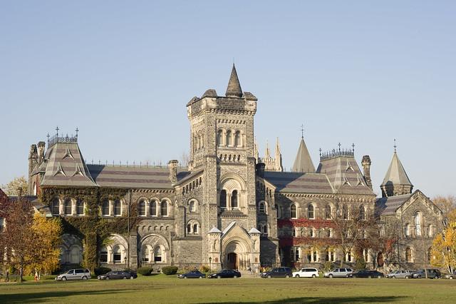 Toronto: University College, University of Toronto