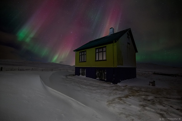 Icelandic Night Colors