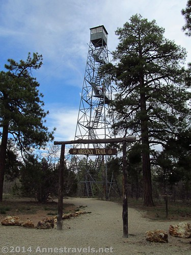 The Grandview Fire Tower, Grand Canyon National Park, Arizona