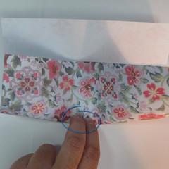 การพับกระดาษเป็นรูปหัวใจแบบ 3 มิติ 008