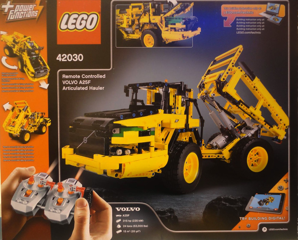 Super LEGO Technic 42030 - Volvo A25F Articulated Hauler | Flickr TP-16