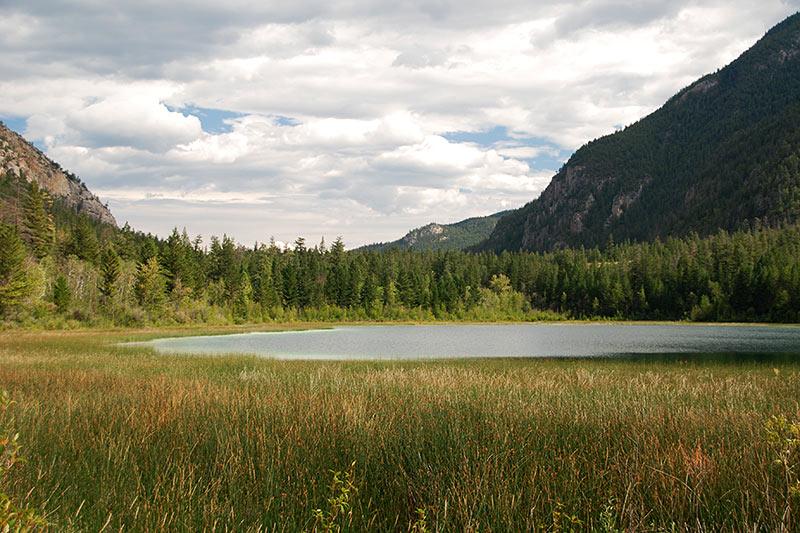 Turquoise Lake, Marble Canyon Provincial Park, Pavilion Mountain, Cariboo, British Columbia, Canada