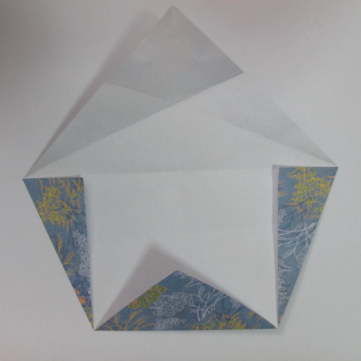 วิธีการพับกระดาษเป็นรูปม้า (Origami Horse) 016