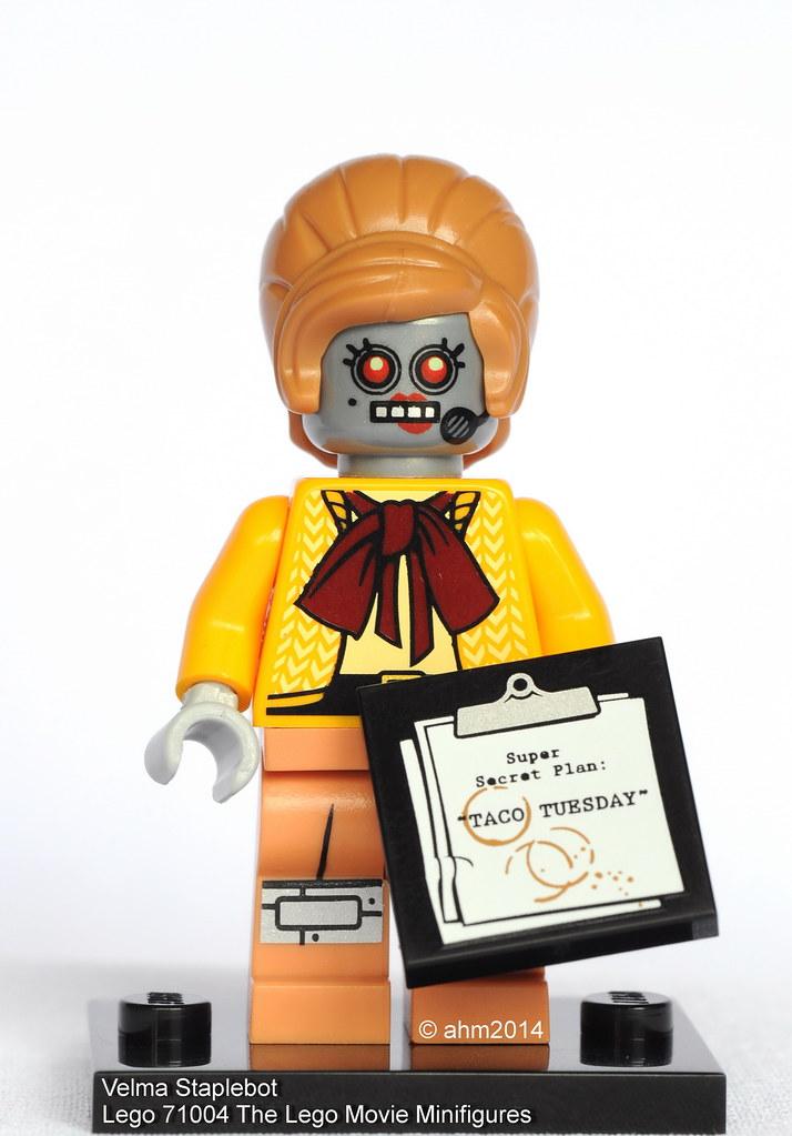 "COLLECTIBLE MINIFIGURE Lego The Lego Movie /""VELMA STAPLEBOT/""  NEW 71004"