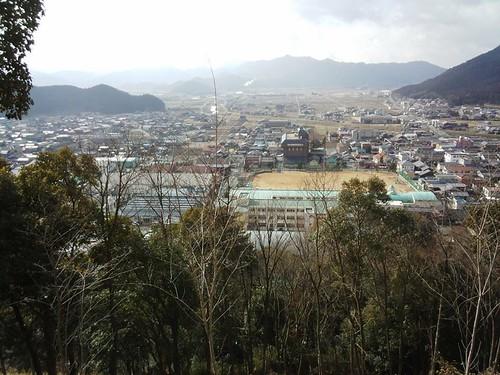 氷上町成松甲賀山山頂