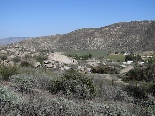 San Jacinto Valley from Hemet Maze Stone, Hemet, California