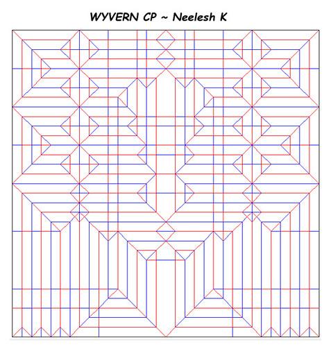 ORIGAMI WYVERN/DRAGON CP | by Neelesh K