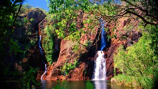 Wangi Falls Litchfield NT Australia 1995