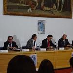 Mesa inaugural del acto