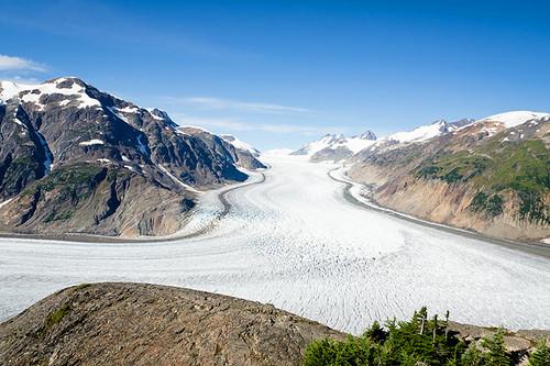 Salmon Glacier north of Stewart, Northern British Columbia, Canada
