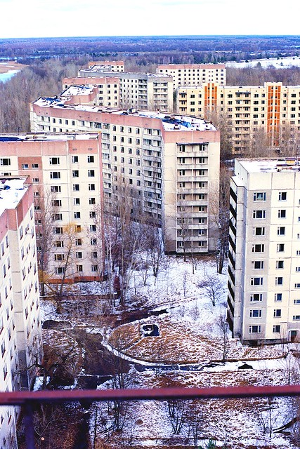 Pripyat, 30 years after explosion