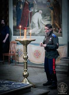 Литургия в Иверском монастыре 175