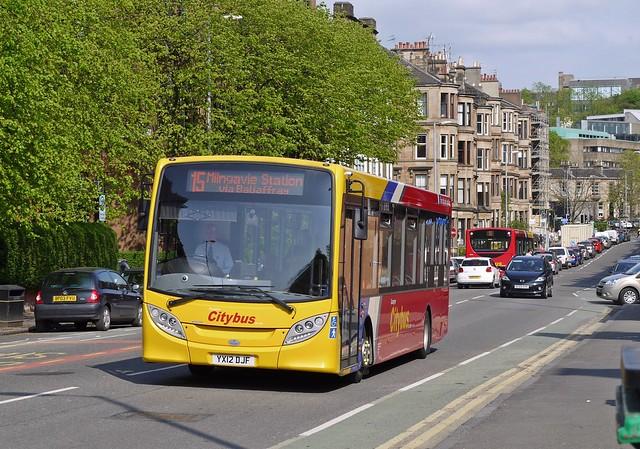 Glasgow Citybus YX12DJF