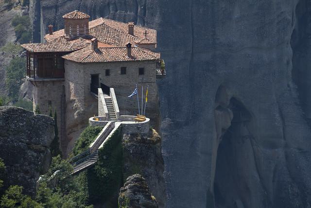 Meteora - The Rousanou (or Roussanou) Monastery