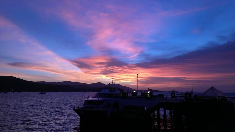 Koh Samui Sunset color 夕焼け