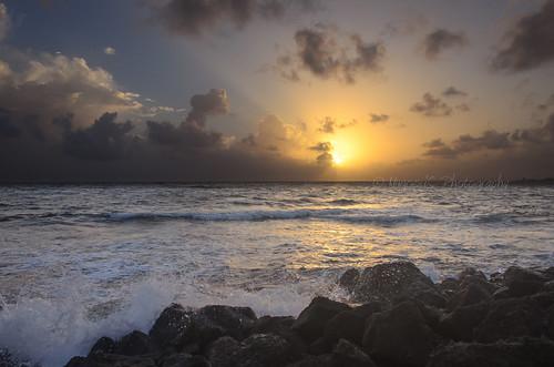 sun water sunrise puertorico rico sanjuan