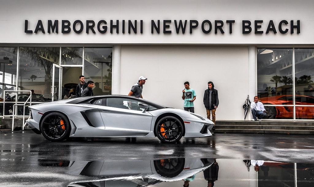 Lamborghini Newport Beach Lamborghini Aventador At Cars An Flickr