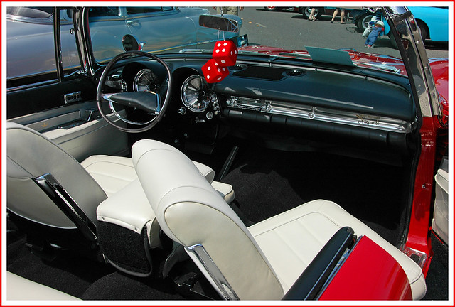 1960 Chrysler Crown Imperial Convertible Interior and Dashboard