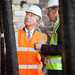 HRH Prince Charles visiting the Mackintosh Building 24 June 2015