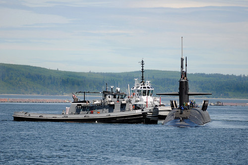 USS Nevada returns to homeport. | by Official U.S. Navy Imagery