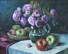 Нм с цветами и яблоками