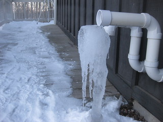 Furnace Vent Pipe Icicle | by Outdoorsman 1520