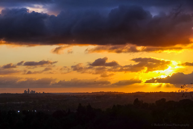 Southern California Sunset Strata