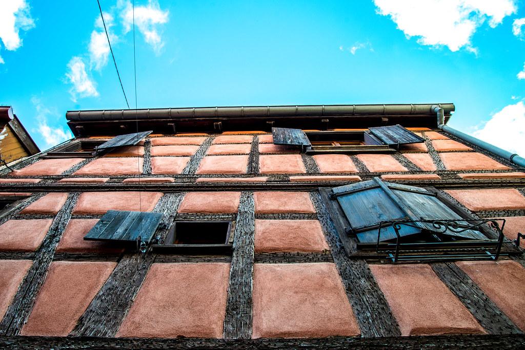 Fenêtres d'Alsace - Eguisheim - rouge