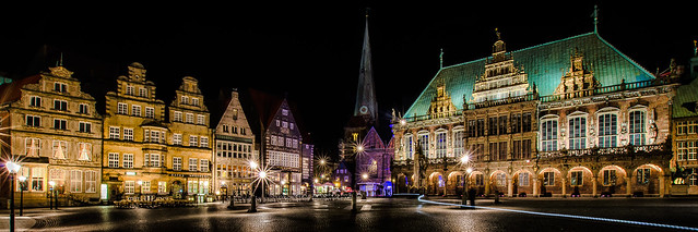 Marketplace and Townhall, Bremen, Germany