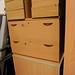 Beech 2 drawer file