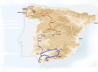 Map Of Spain Train Routes.Al Andalus Luxury Train Spain 2016 Route Map The Lounge Flickr