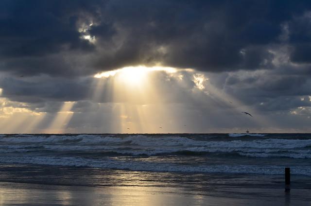 Vlieland - strand - 20.32 uur