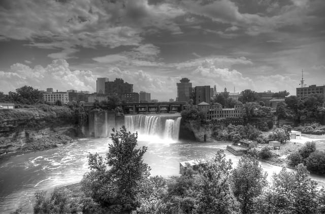 10 Rochester, New York - High Falls