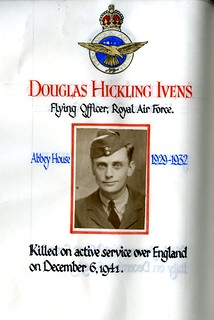 Ivens, Douglas Hickling (1915-1941)   by sherborneschoolarchives