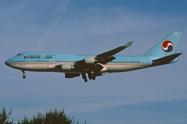 397ad - Korean Air Boeing 747-400; HL7493@LAX;13.02.2006