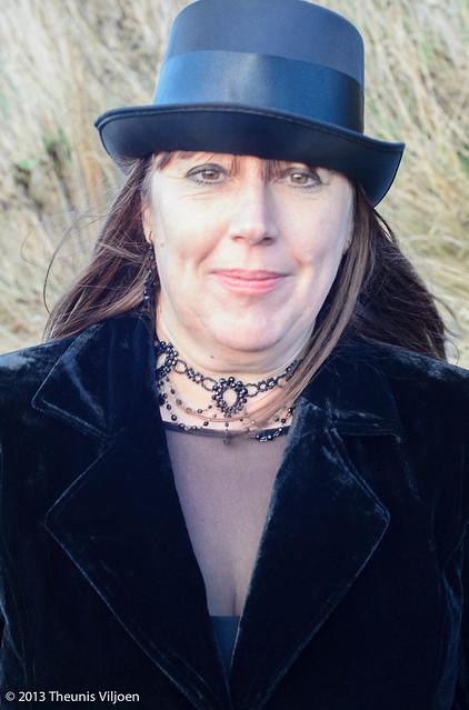 Victorian Goth Lady