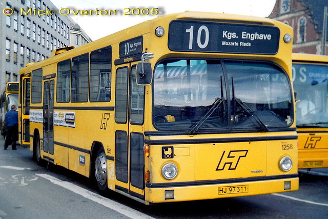 1980 Volvo B10R HT1258 HJ97311 1997