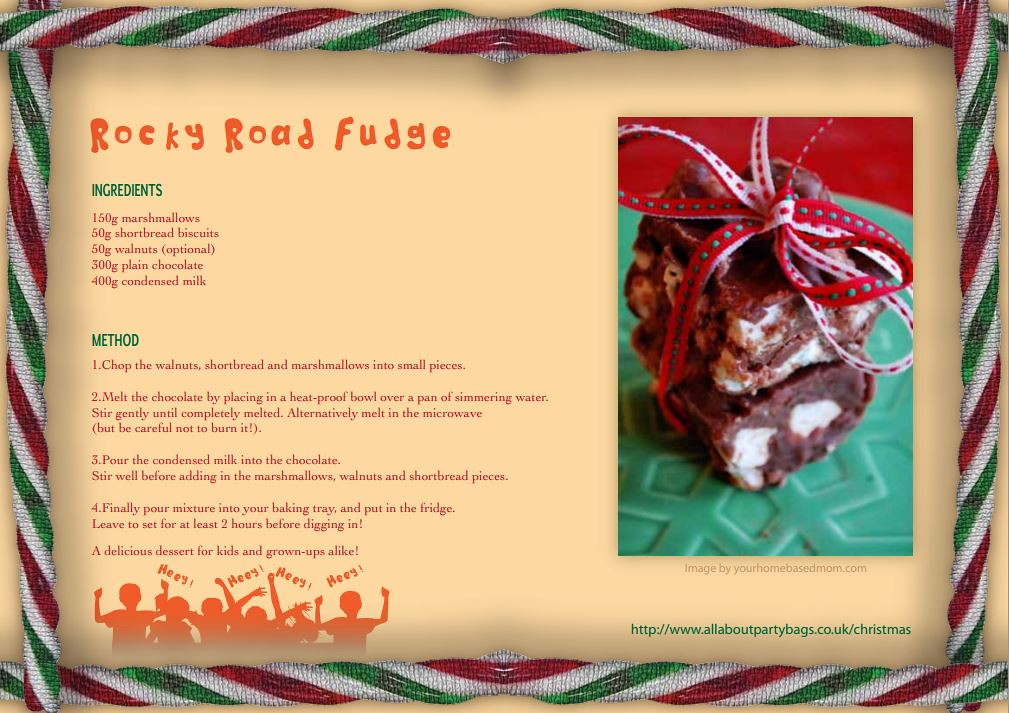 100% authentic top design cheap Rocky Road Fudge Christmas Recipe | What is Christmas withou ...