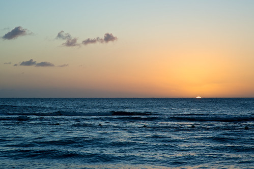 ocean sunset sun jamaica caribbean treasurebeach afnikkor85mmf14dif