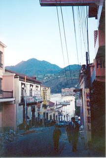 Street in downtown Xela