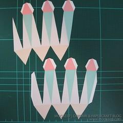 สอนทำโมเดลกระดาษเป้นรูปแจกันโบราณ (Papercraft Model Flower Vase) 007