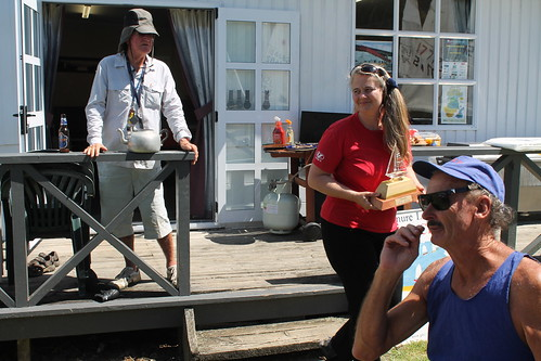 Chantal Grass, winner of the Queen of the River Trophy | by PLSC (Panmure Lagoon Sailing Club)
