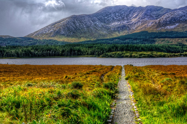 Path Down To Lough Inagh