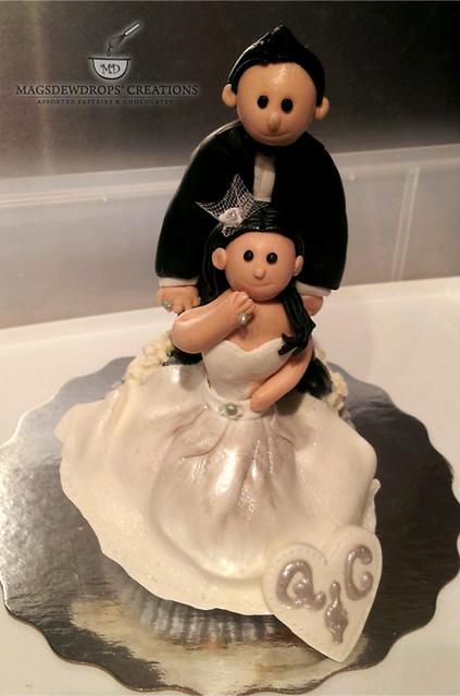 Bride & Groom Topper